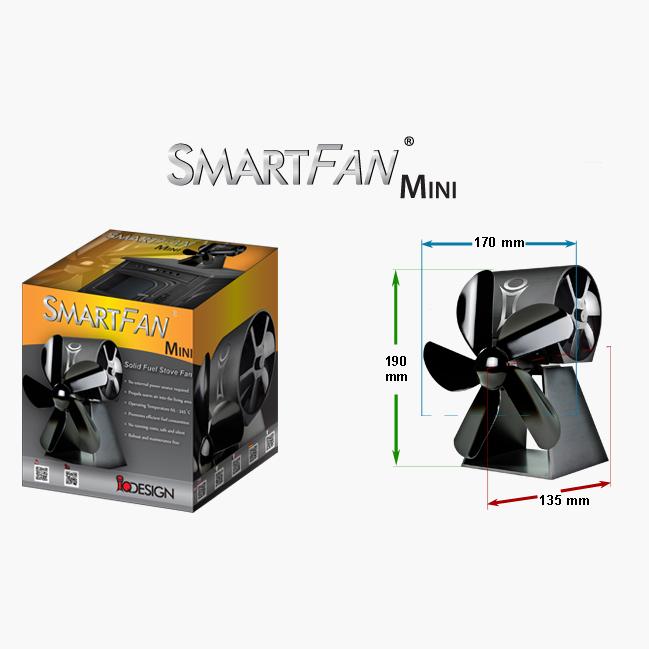 smartfan mini ventilateur pour poele stove fans ireland. Black Bedroom Furniture Sets. Home Design Ideas